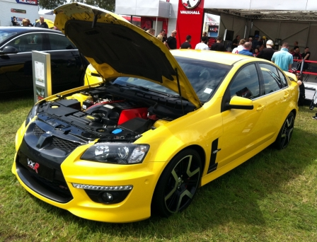 Of course, it's a Vauxhall (Holden) VXR8 (GTS).