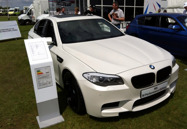 The rather lovely, if expensive BMW M5 M Performance Edition