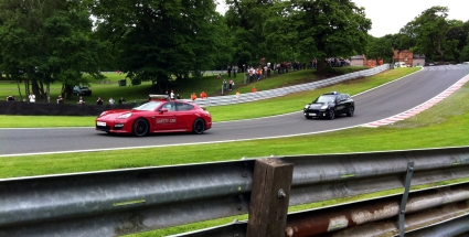 Porsche provide both the Safety Car and Medical Car. The Cayenne sounds especially naughty.