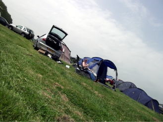 ESM's base of operations for Goodwood.