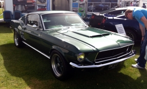 Rather stylish classic Mustang