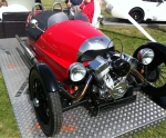 Morgan Threewheeler; classically British and mental.