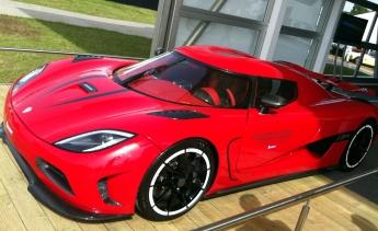 "Koenigsegg Agera R - ""only"" 1,100 bhp."
