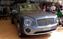 Bentley EXP 9 F concept SUV. To be honest, despite the controversy, I actually quite like how it looks.