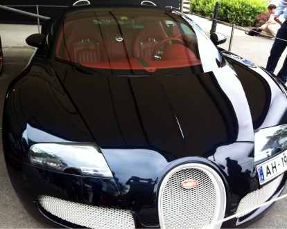 """The slightly more """"normal"""" Veyron Grand Sport."""