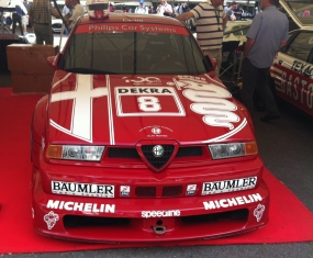 Alfa Romeo 155 V6 TI - 480 bhp and a rev limit of 12,000rpm! One of my favourite tin-top racers.