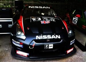The brawny Nissan GT-R GT1.
