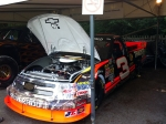 The #3 Richard Childress Racing Chevrolet Silverado from NASCAR's Camping World Truck Series. It's 700 bhp is overshadowed by the 850 of Jesse Jame's Trophy Truck lurking behind.