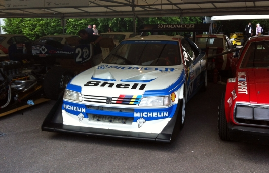 """Wings don't get much bigger than that fitted to Ari Vatanen's Peugeot 406 T16 """"Pikes Peak""""."""