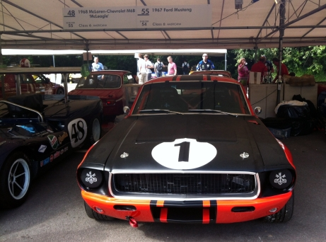 Shelby-team 1967 Ford Mustang Trans-AM