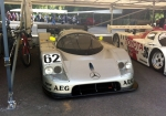 The 1989 Sauber-Mercedes C9 - Le Mans winner that year.