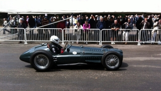 The epic sounding BRM V16 P15. No, not a typo, it has 16 cylinders! 1.5 litres with a supercharger. Not bad for 1950.