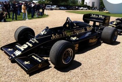 Ayrton Senna's Lotus 98T.