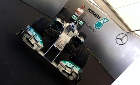 Mercedes MGP W02 of 2011 vintage