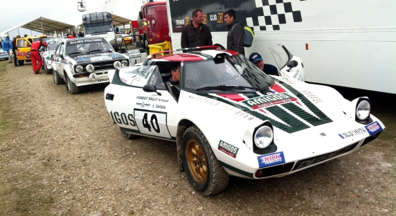Is the Lancia Stratos the best looking rally car ever built? Hard to think of a better one.