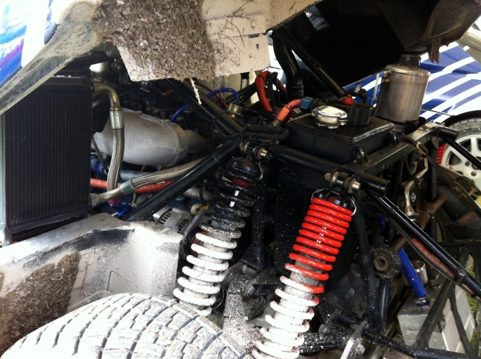 """The """"business end"""" of the RS200"""