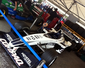 Jenson Button's Williams FW22. A car from before he started doing Head & Shoulders adverts.