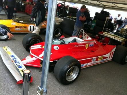 Jody Sheckter's personal Ferrari 312 T4 from 1979.