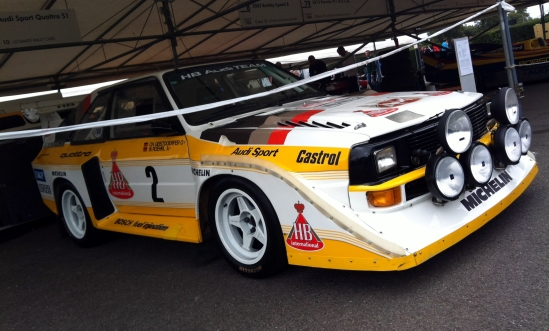 THE Audi Sport Quattro S1. My favourite rally car of all time.