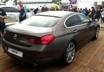 Another ESM unfavourite; the BMW 6-Series Gran Coupe in matte brown.