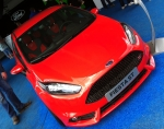A more modern Ford; the Fiesta ST Concept. Production is slated to begin in January 2013 according to Ford UK.