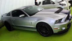 680 bhp? In a Mustang? Yes please! The 2012 GT500.