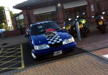 Crazy supercharged Ford Sierra P100