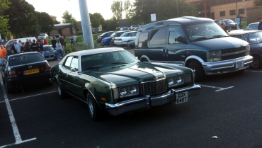 This one left me reaching for the internets when I got home. Mercury Montego, in case you didn't already know.