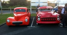 Real Hot Rods on display