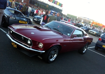 Another Mustang; this time a later '69 model year car.