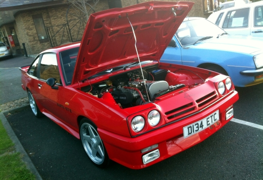 Opel Manta GTE shows off its stunningly clean engine bay