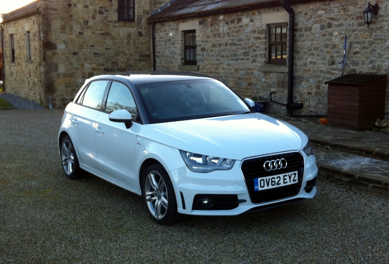 Audi a1 sportback 1 4tfsi s line the big review engagesportmode