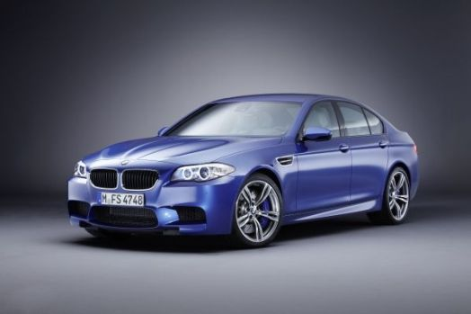 This is the BMW M5. I think...