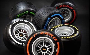 By the time you finish reading this caption, the pictured Pirelli tyres will have degraded to the point of uselessneess. Maybe.