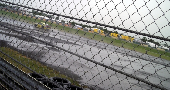 Race 3 - little bit wet.