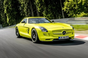 Mercedes-Benz SLS AMG Electric Drive 00