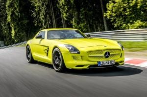 Mercedes-Benz SLS AMG Electric Drive 00