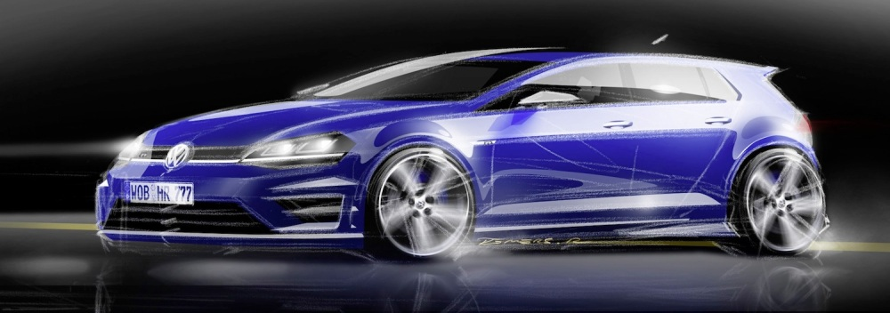 Concept sketches show a five-door.