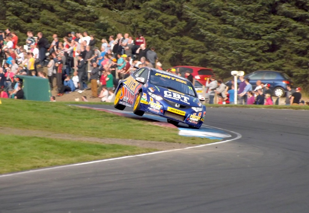 Andrew Jordan really was flying in race three.