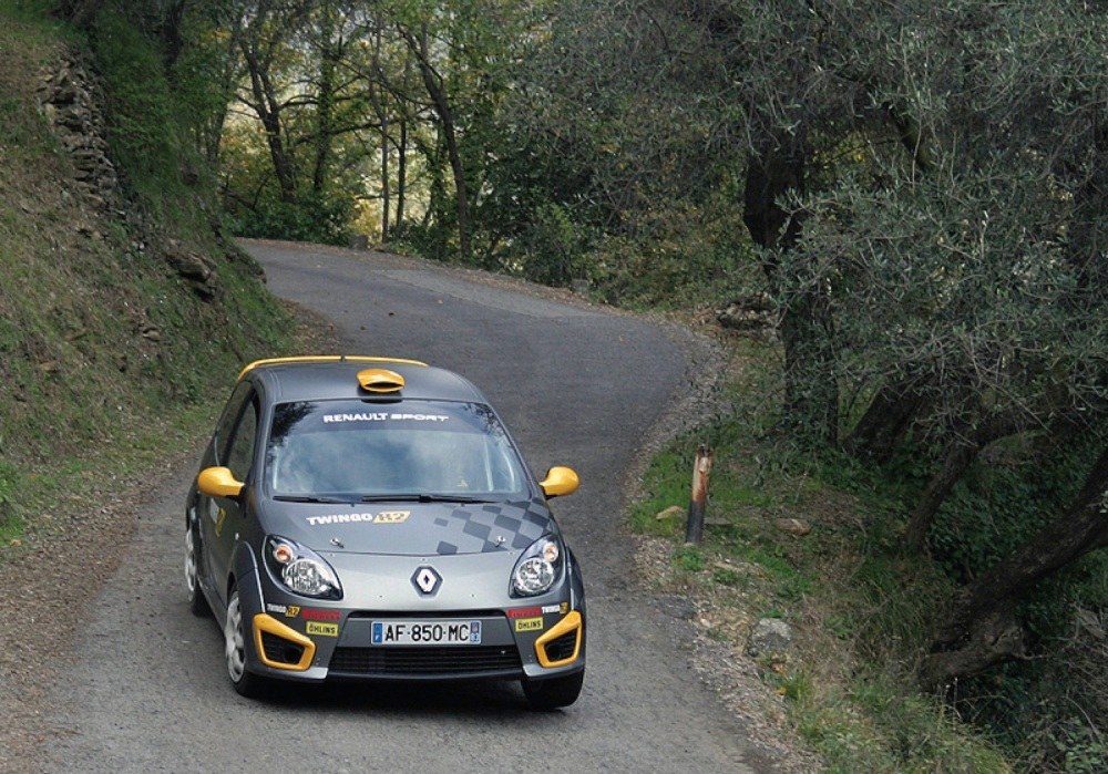 Competition pedigree in the shape of R2 rally car.