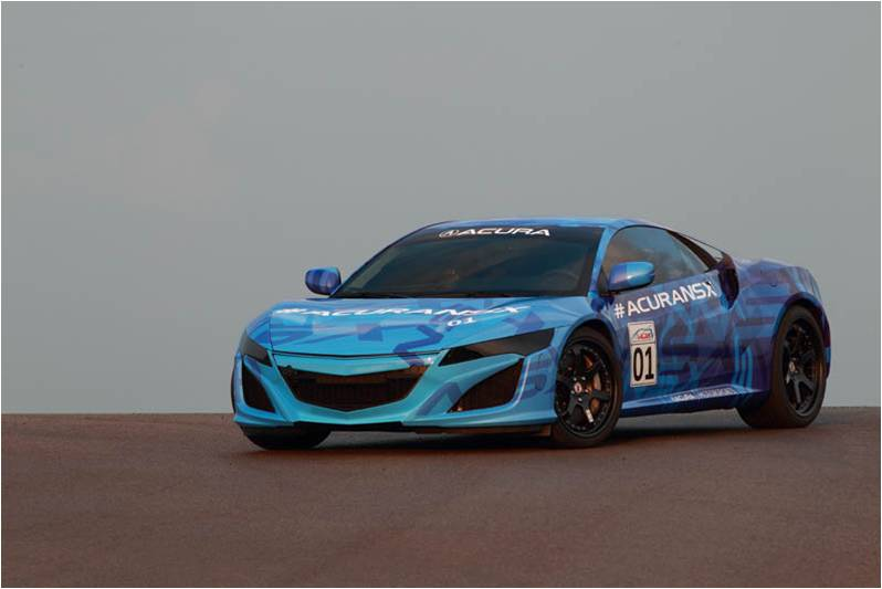 Spy Shots: 2016 Acura NSX Prototype – Acura Connected