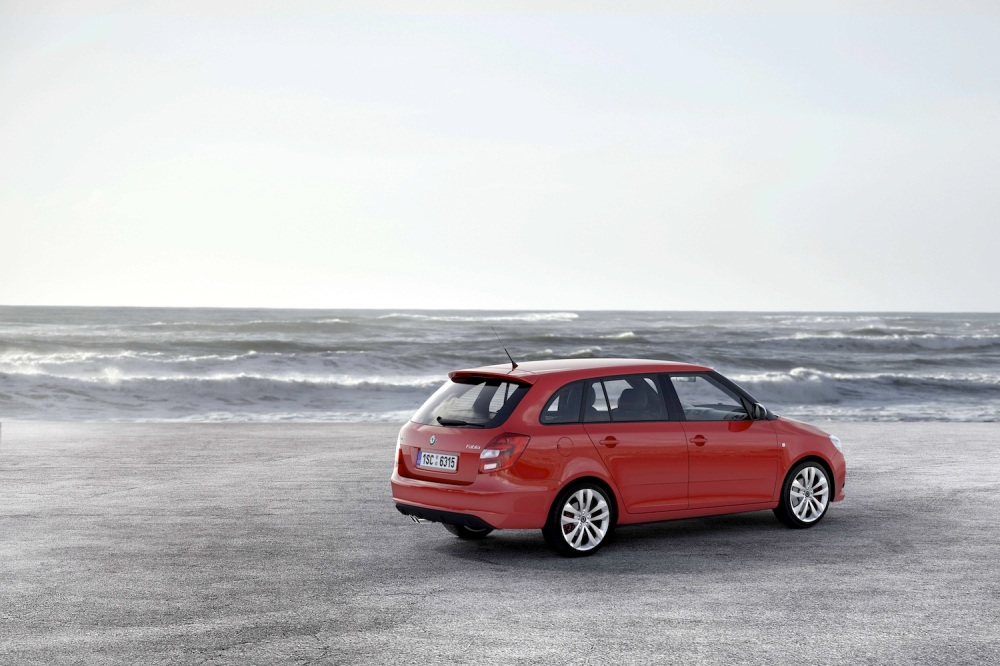 Skoda Fabia vRS Estate 002