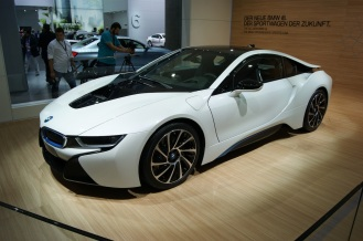 The gorgeous and eco friendly BMW i8 supercar