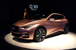 Infiniti's A-Class sized hatchback. Due to be built at the Nissan plant in Sunderland by ESM's mate Dave.