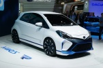 Not your average Yaris. 400 bhp from a 4WD hybrid powertrain!