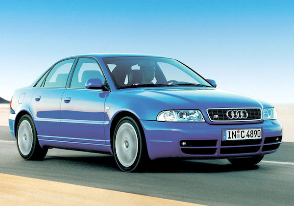 Back in 1998, 265 bhp was all the power you got in Audi's smallest performance saloon.