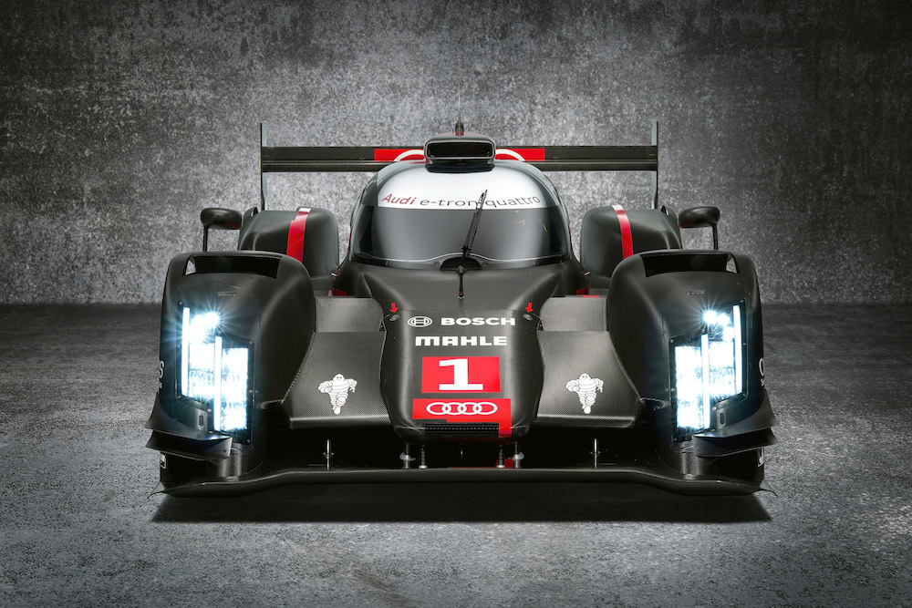 The new 2014 R18. Don't stare directly at the headlights!