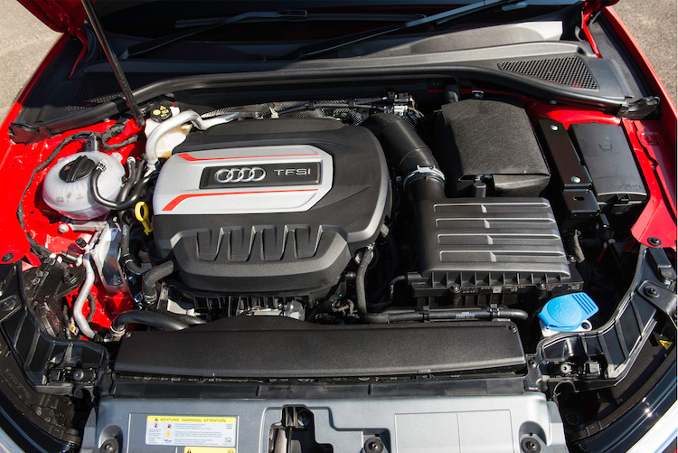 Audi S Saloon Quattro UK Pricing And Specification Released - Audi s3 engine