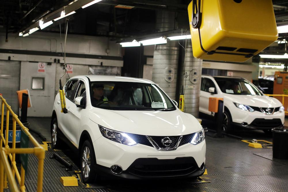 2014 Nissan Qashqai Production 002