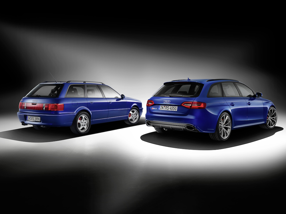 Audi RS 2 Avant and RS 4 Avant Nogaro